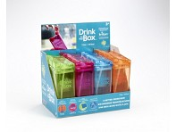 Drink in the Box: Reusable Drink Box - 12 oz - Mixed Case of 16 + Display - Case of 16
