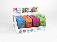 Drink in the Box: Snack in the Box - Mixed Case of 12 + Display - Case of 12