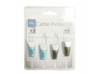 Tudia: Klip Cable Protector - Set of 2 - Gray/Blue - Case of 12