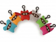 Milkdot: Bandits Plush Key Rings - Assorted Set of 6
