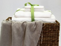 Beantown Bedding: Laundry-Free Linens - Sample