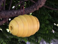 Byer of Maine: Bee Hive Bird Home - Yellow