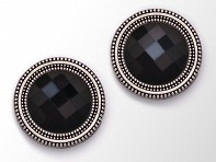 MagneButton: Black Crystals - Case of 12