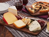 David Rasmussen: Cheese Board with Knife - Case of 12