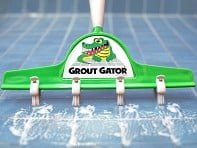 Grout Gator: Grout and Tile Cleaning Brush - Sample