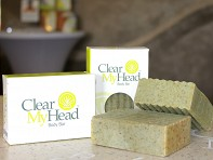 Clear My Head: Body Bar - Case of 8