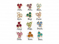 Crystal Birthstones- Full Year Set - Case of 60
