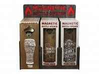 Torched Products: Wall Mounted Bottle Opener Display