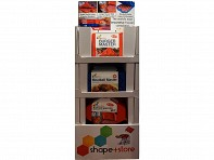 Shape + Store: Filled Freestanding Display - Case of 38