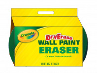 IdeaPaint: Crayola Dry Erase Foam Eraser - Case of 12