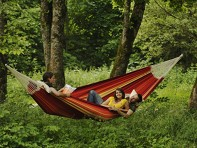 Byer of Maine: Gigante Family Size Hammock - Lava Red