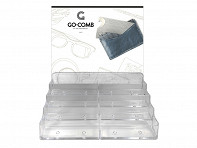 Go-Comb: 8-Style Plastic Counter - Display