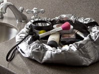 Metallic Makeup Case
