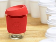 Joco: 12 oz. Reusable Glass Cup - Case of 6