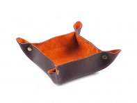 Littlewings Designs: Small Leather Catch-all