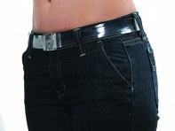 Skinny Invisible No Buckle Belt - Case of 12