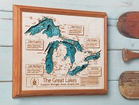 Lake Art: Wall Art - 24 x 30""