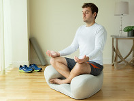 Alexia: Ergonomic Meditation Seat - Fabric