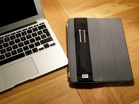 Quiver: Extra Large Double Pen Holder & Stylus Holder