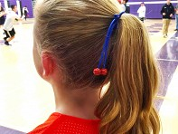 Pulleez: Sliding Hair Tie - Sporteez - Sample