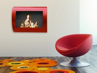 Chelsea Wall Mount Indoor Fireplace