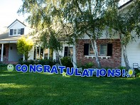 My Yard Card: Congratulations - Case of 6