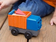 Luke's Toy Factory: EcoTruck Dump Truck - Case of 6