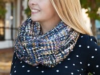 Rising Tide: Chunky Knit Infinity Scarf - Case of 4