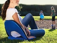 Picnic Time: Oniva Outdoor Reclining Seat + Free Display - Case of 6