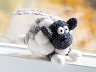 Woolbuddy: Felted Wool Ornamet
