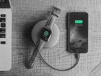 Nomad: Charging Pod Pro for Apple - Space Gray