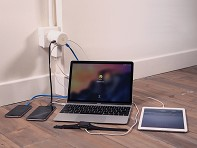 OneAdaptr: TWIST+ World Charging Station - Case of 4