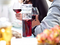 Plastic Wine Saver Carafe - Case of 6