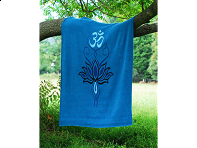 Lotus & Om Throw