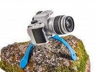 Splat Flexible Tripod SLR Blue