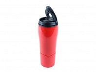 Mighty Mug: Tip-Proof Steel Travel Mug - Case of 6