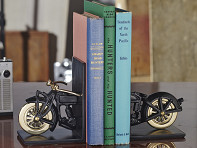 Retro Book Ends