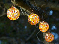 Allsop Home & Garden: Aurora Solar Glass String Lights - Case of 6