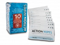 Life Elements: Action Wipes 10 Count Single Pack - Case of 12