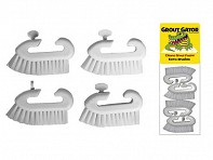 Grout Gator: Brush Head Set - Case of 10