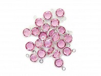 Crystal Birthstones Charms - Case of 5