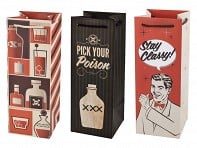 True: Liquor & Champagne Bags - Case of 10
