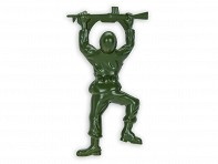 True: Bottle Opener - Army Man Bottle Opener + Display Box - Case of 12