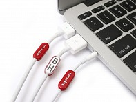Buoy Tags: Labels for Apple Cables - Case of 60