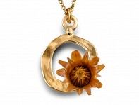 Centered Necklace - Gold