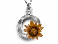 Centered Necklace - Silver