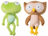Chimeras: Frog + Owl - Case of 6