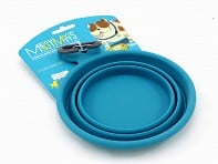 Messy Mutts: Medium Silicone Collapsible Bowl - Case of 6