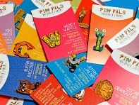 Pin Pals: Alphabet Pins Pack Small - Case of 124