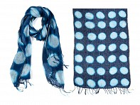 PAZ Collective: Dots Hand-Dyed Scarf